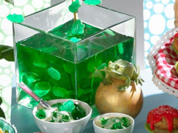 Froschkönig Götterspeise Rezept | LECKER