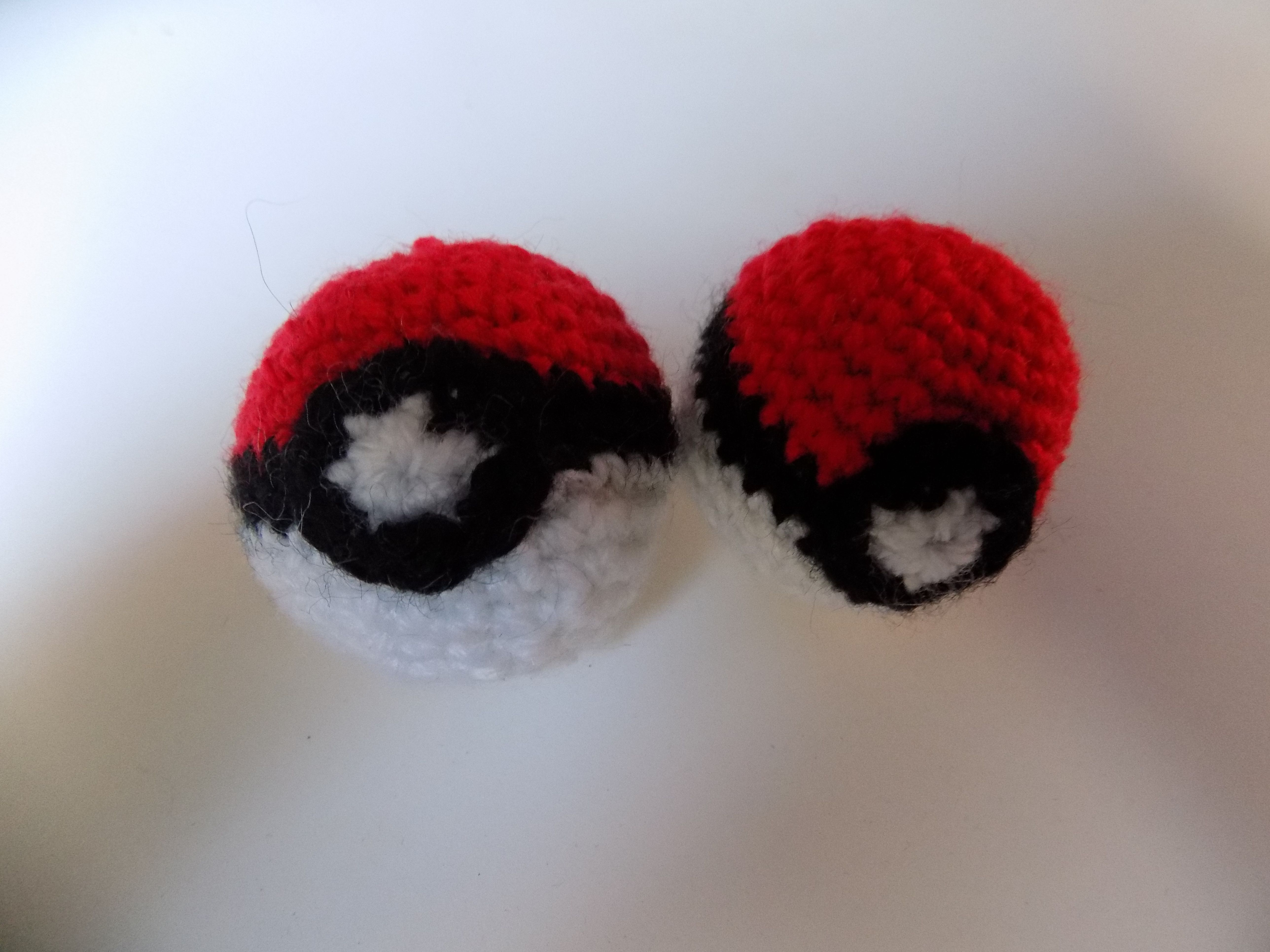 Mini Pokeball Crochet Pattern Free Pokemon Crochet By Danzii