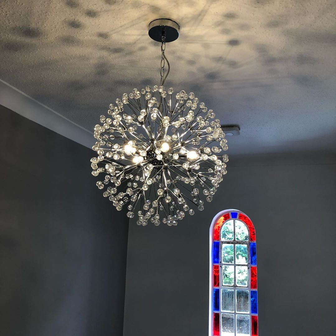 Installation Of A Fantastic Light Fitting Top Of A Stairwell Unique And Has A Great Effect Electrician Internal Home Lighting Light Fittings Ceiling Lights