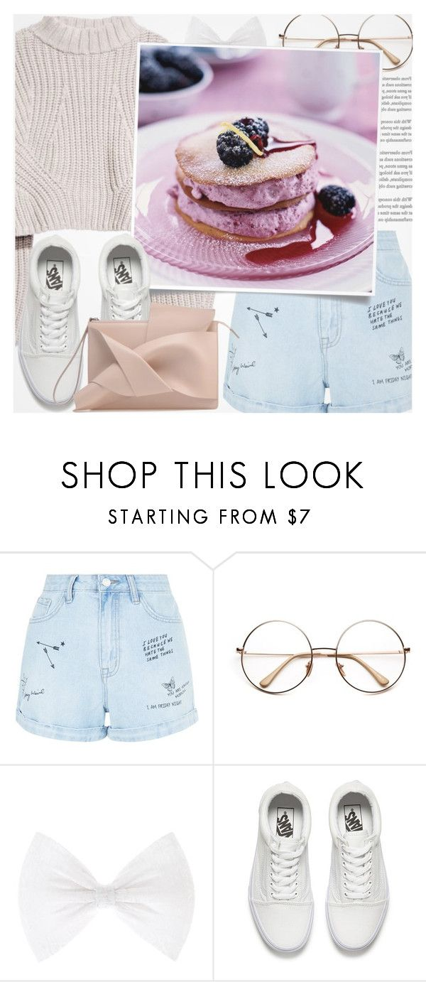 """♠ (read description pls)"" by paty ❤ liked on Polyvore featuring New Look and Vans"
