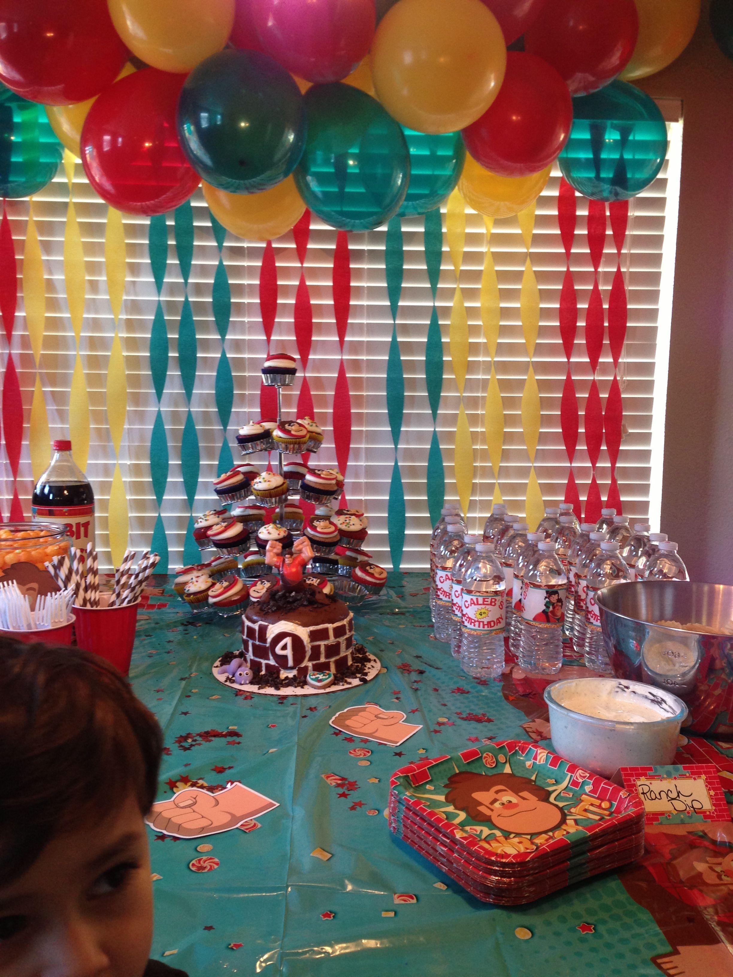 Wreck It Ralph Party Theme So Much Fun Boy Birthday Parties