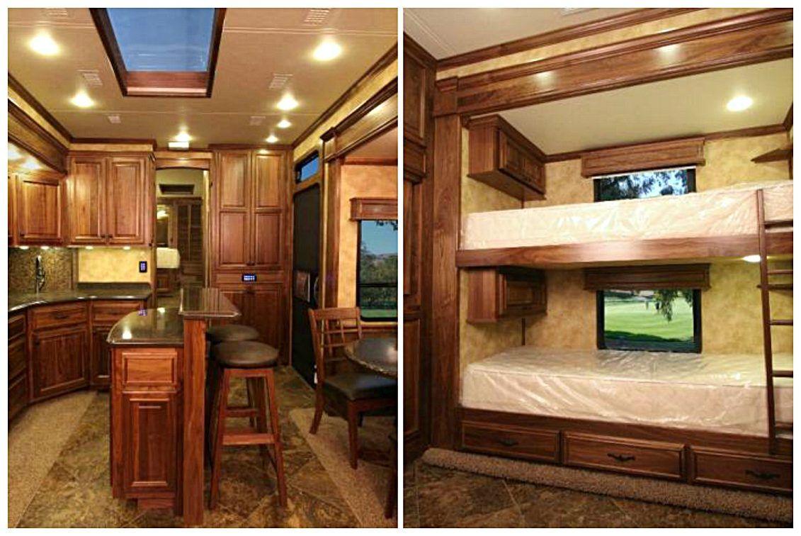 2 bedroom 5th wheel Two bedroom, Rv floor plans, Motorhome