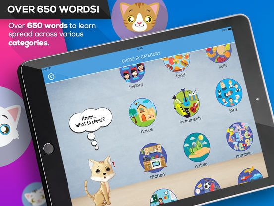 Spelling with Teto - English by Jonathan Mark | iphone Apps