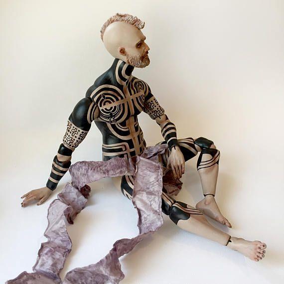 À titre dexemple de poupée en porcelaine porcelaine Bjd Bjd