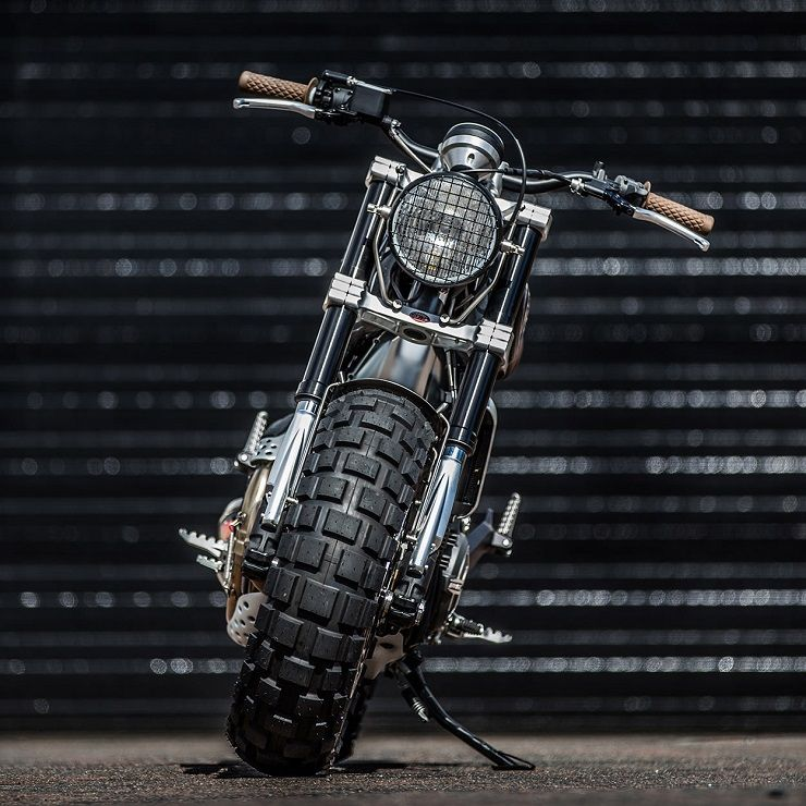 Custom Ducati Scrambler by Down & Out Cafe Racers