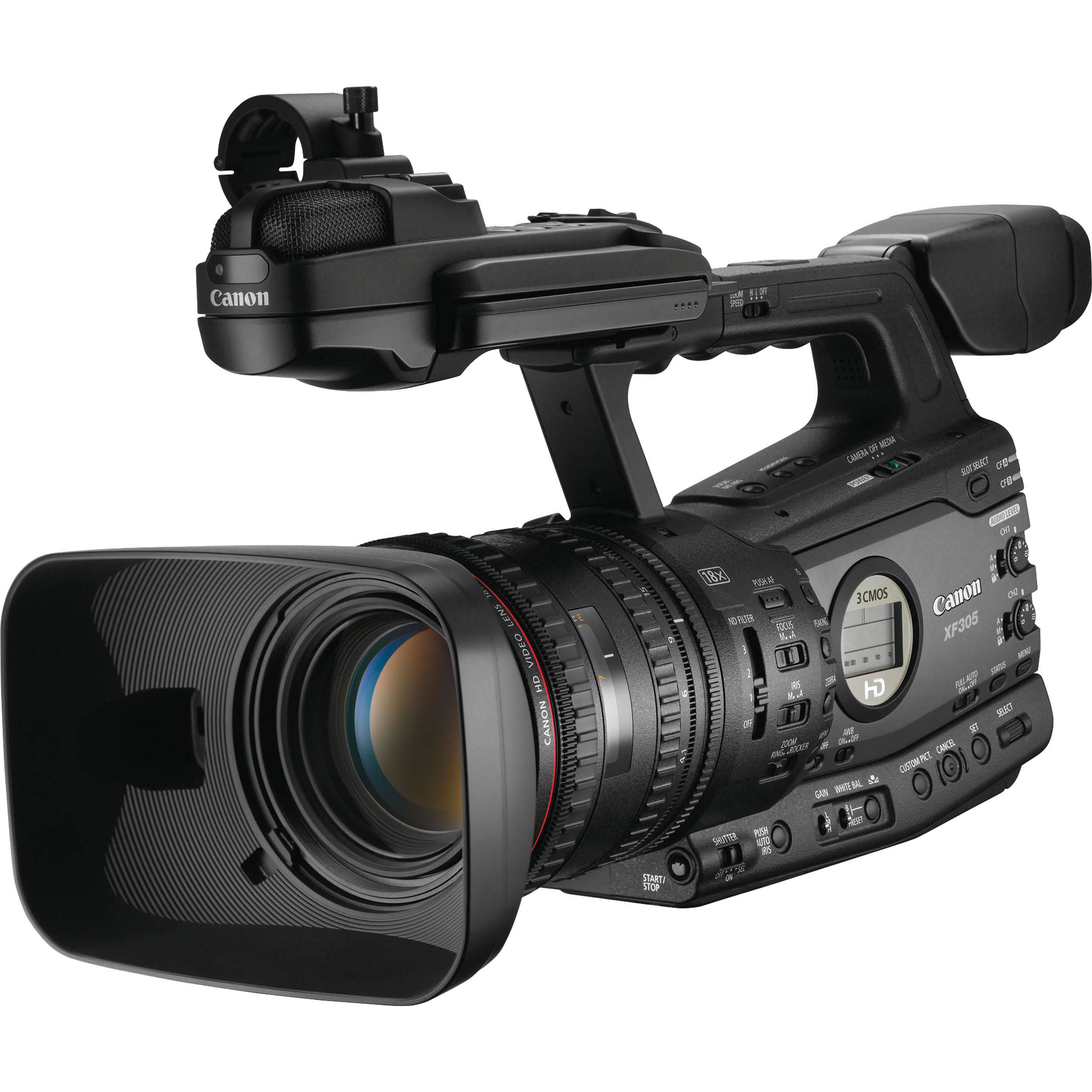 Canon XF305 Professional Camcorder Camera equipment