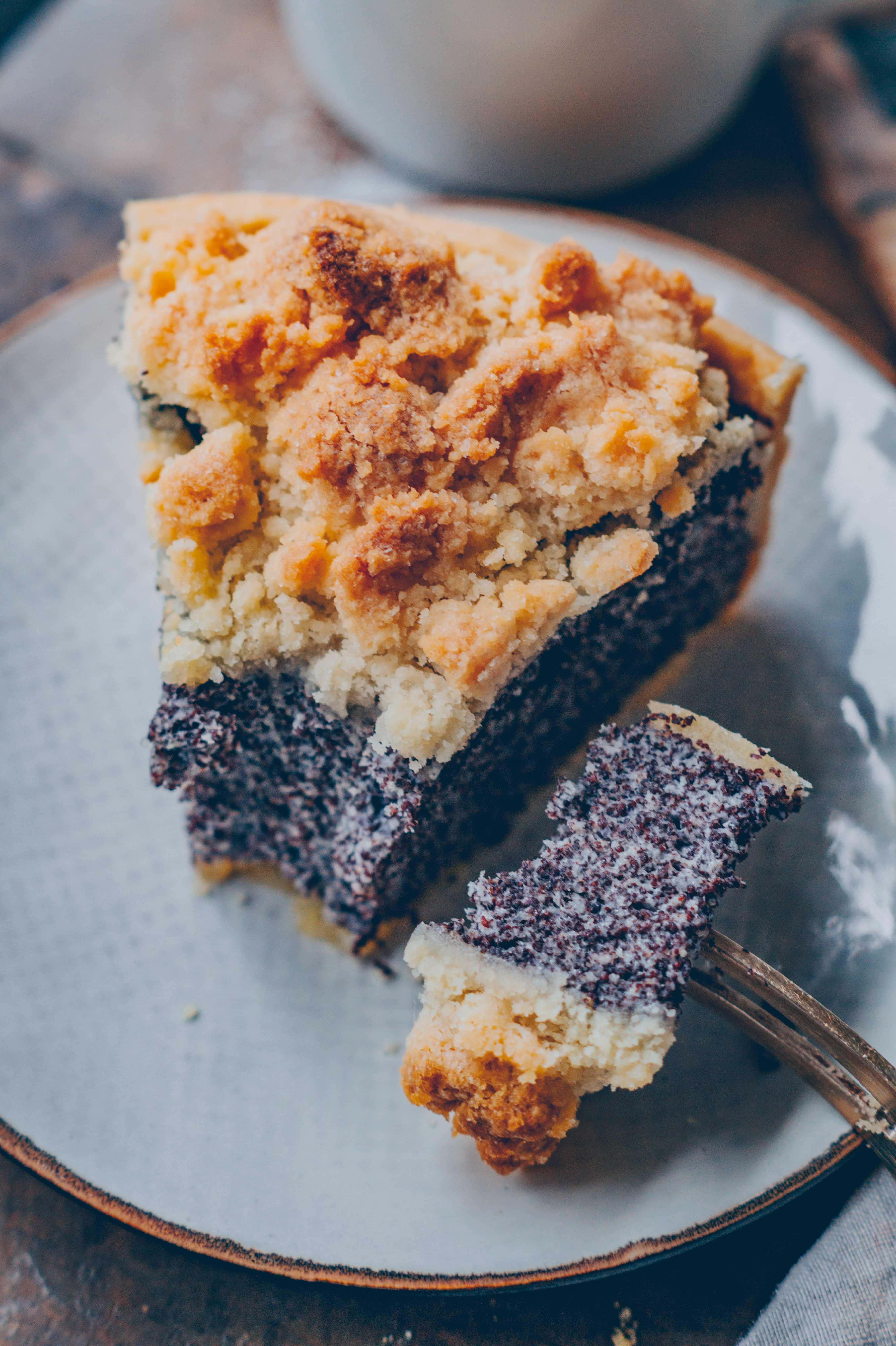 Mohnkuchen mit Quark - | saftiger Käsekuchen Klara`s Life