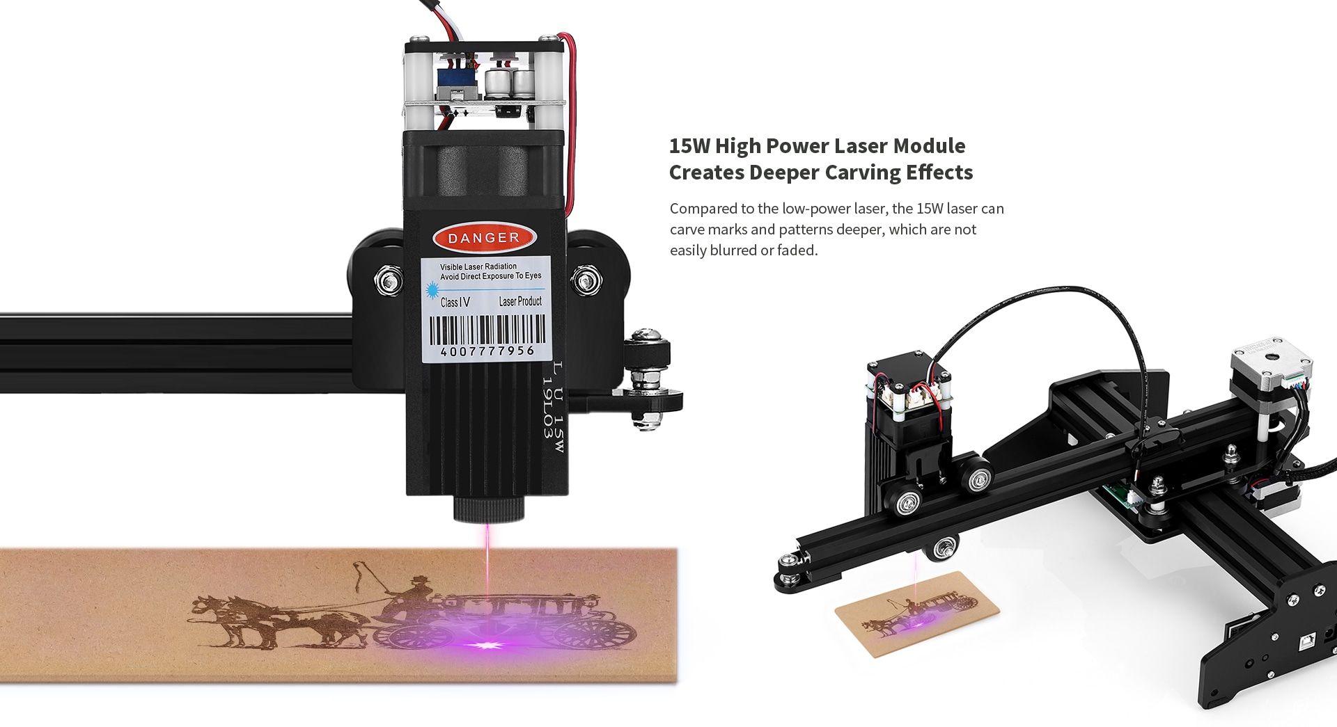 Ortur Laser Master 15w Desktop Laser Engraver Cutter Laser Engraving Machine Limited Offer 165 99 Gearbest Ex In 2020 Laser Engraving Machine Laser Engraving Laser