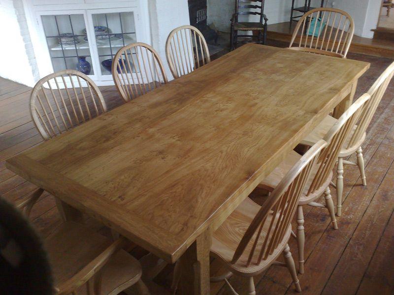 Bespoke Farmhouse Pippy Oak Refectory Table
