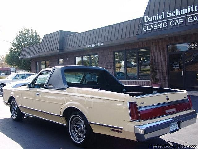 1985 Lincoln Towncar Pickup Lincoln Cars Lincoln Town Car Pickup Trucks