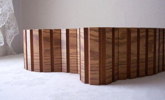 Vintage Reclaimed Veneer Wood Trim Mid By Allthebestvintage