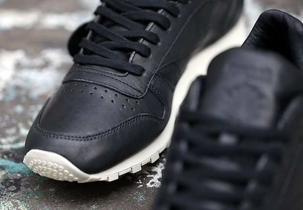 Horween x Reebok Classic Leather Lux Black