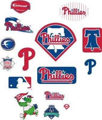 Fathead Philadelphia Phillies Junior Team Logos by Fathead. $44.95. What Is A Fathead?: A�Fathead is Huge! Real.Big. Fathead wall graphics are life-size action images that you stick on any smooth surface. You can move them and reuse them and they are safe for walls. Fathead wall graphics are way better than a poster, much bigger than a sticker and tougher than a decal. Need to decorate a den, office, kid's room? Fathead has you covered! A fathead can transform an ent...