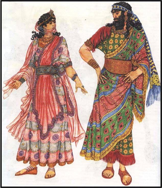 تطور الأزياء عبر التاريخ جـ1 - عالم نوح | Ancient cultures ...