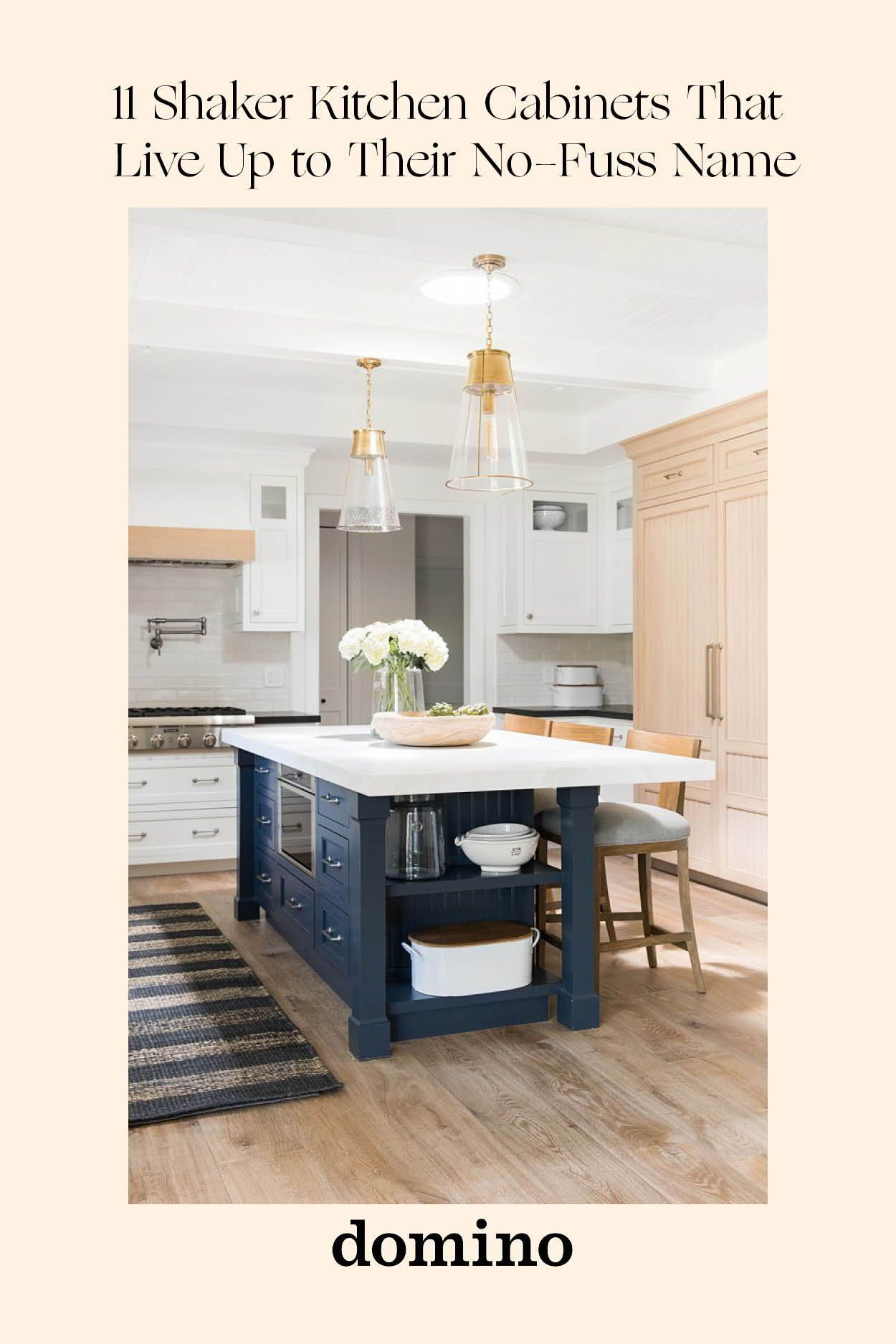 11 Shaker Kitchen Cabinet Ideas That Put a Twist on the ...