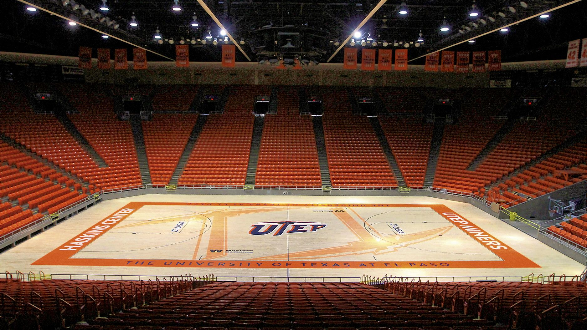 Utep Don Haskins Center Sports Arena Southwest Travel Center Basketball