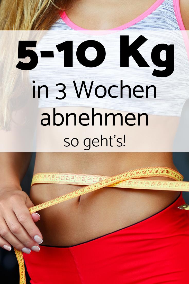 5-10 kg abnehmen