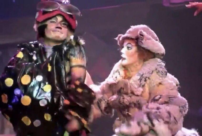 CATS musical 1998 (Pouncival, Jennyanydots) Cats musical