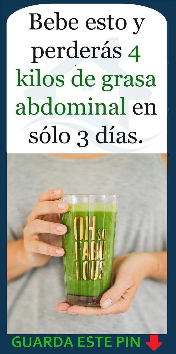 jugos verdes para bajar de peso ingredientes