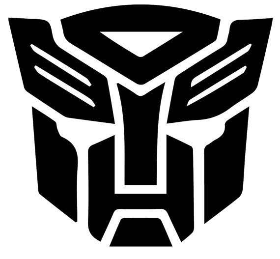 Highest Quality TRANSFORMERS  G1 AUTOBOT Car  or Wall Decal Sticker