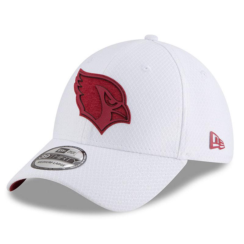 073e1a86 Arizona Cardinals New Era 2018 Training Camp 39THIRTY Flex Hat ...