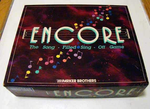 Hey, I found this really awesome Etsy listing at https://www.etsy.com/listing/212345604/encore-board-game-vintage-board-game