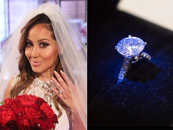 Adrienne Bailons engagement ring is definitely The Real thing