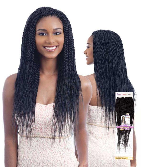 2X NIGERIAN PRE - STRETCHED BRAID 24 - Shake-N-Go Fashion