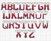 Schema alfabeto  Innevato