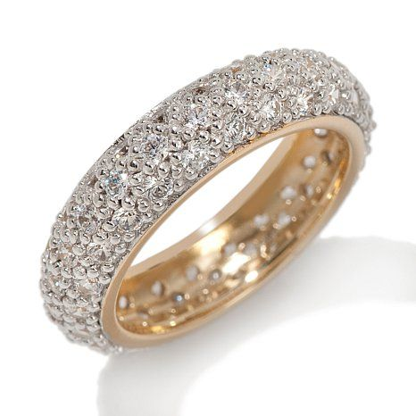 Absolute Pave Eternity Band Ring Rings Rings Diamond Rings
