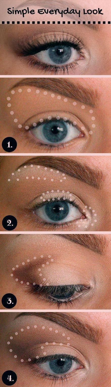 17 Super Basic Augen Make-up-Ideen für Anfänger - #Anfänger #Augen #Basic #für #MakeupIdeen #Super