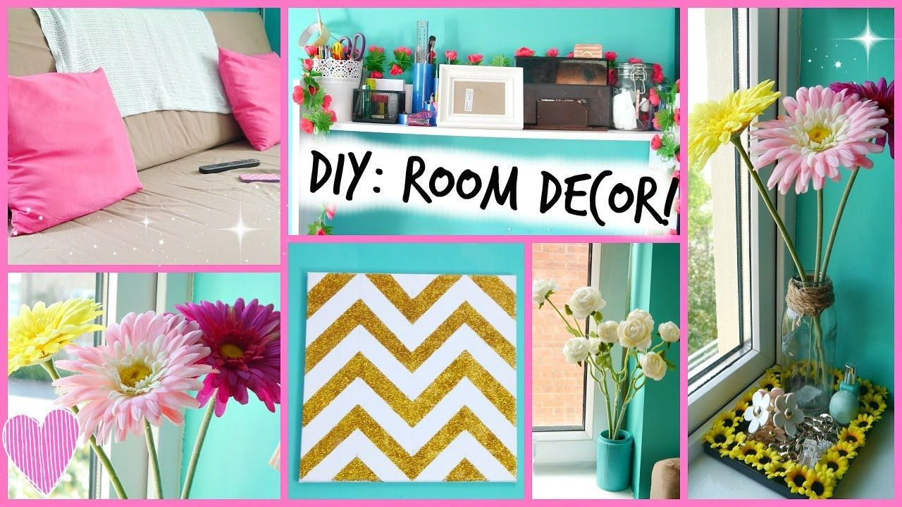 Diy bedroom decor ideas - Diy Easy Room Decor Ideas