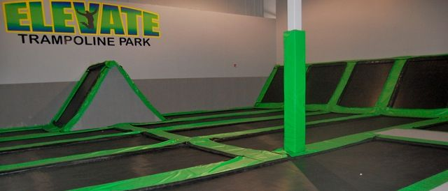 Elevate Trampoline Park Trampoline Park Trampoline Fun Places To Go