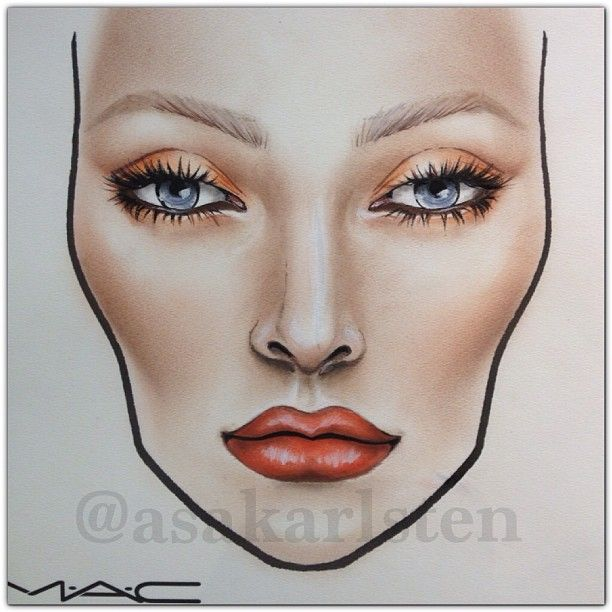 Back To Work Mac Maccosmetics Makeup Inspiration Ilovemaciggirls Asakarlsten Instagram Web Interface Makeup Face Charts Makeup Charts Mac Face Charts