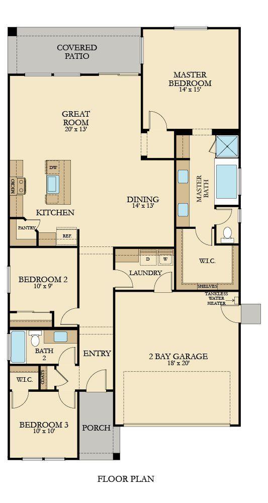 The Ashridge Plan By Lennar Homes Dreamhome Floor Plans Lennar Small House Plans