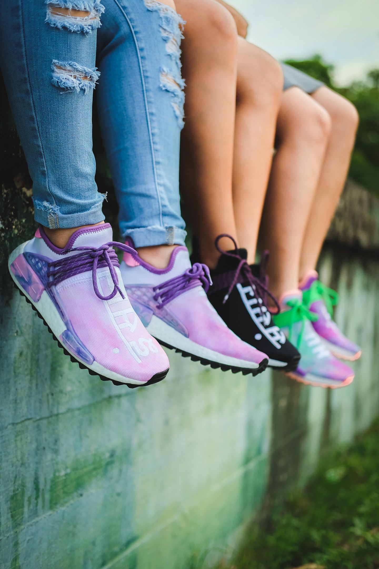 """8a60cde1d A Visual Explanation Why You Should Own The Pharrell x adidas NMD Hu """"Holi  Festival"""" Pack"""