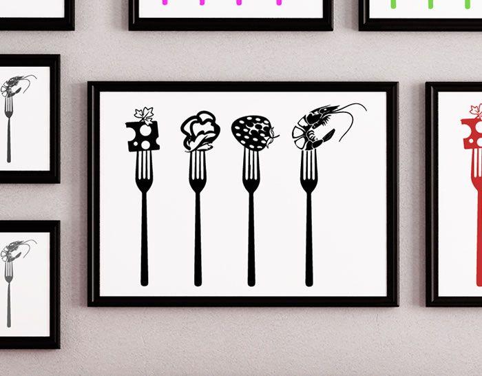 Vinilo para cocinas restaurantes y bares decoraci n - Pegatinas para cocinas ...