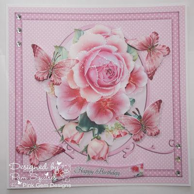 Gems of Inspiration: My card for Florie