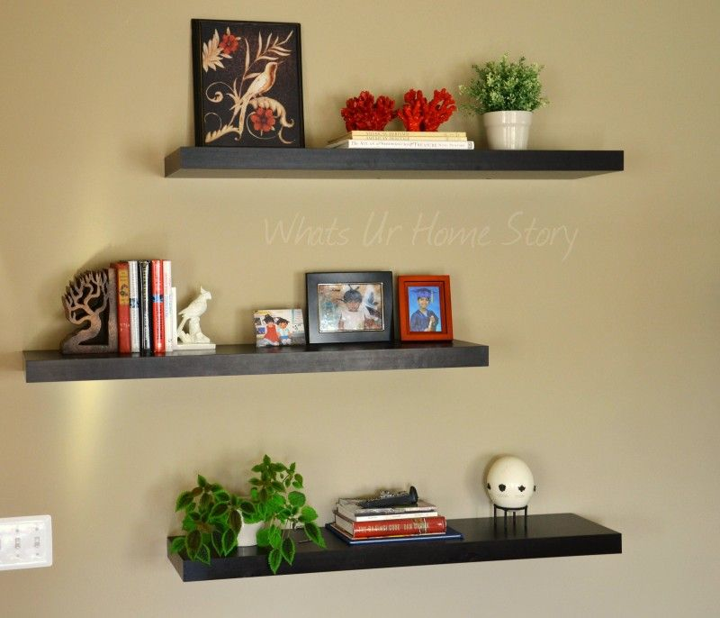 The Family Room - The Other Half | Shelves, Wall shelving and ...