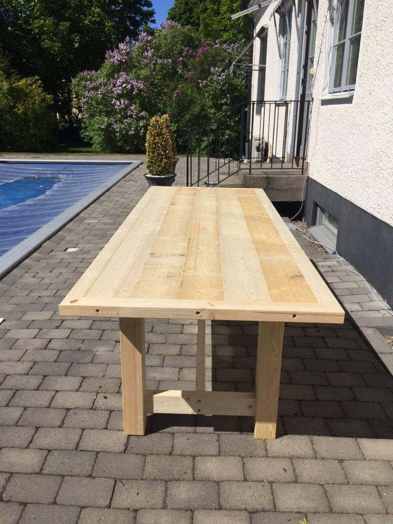 bygga ett utebord