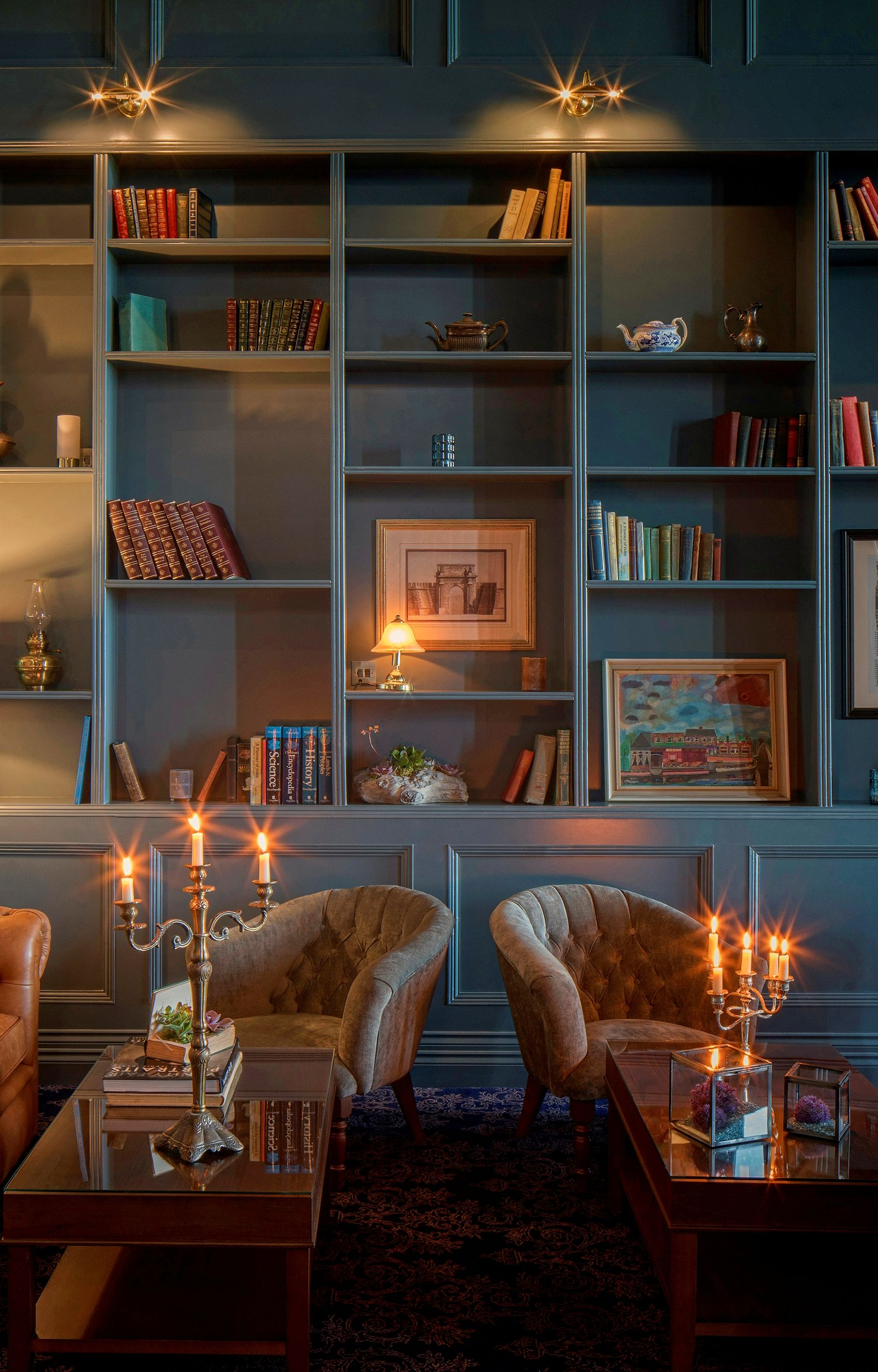 The Library At Garryvoe Hotel Co Cork Ireland