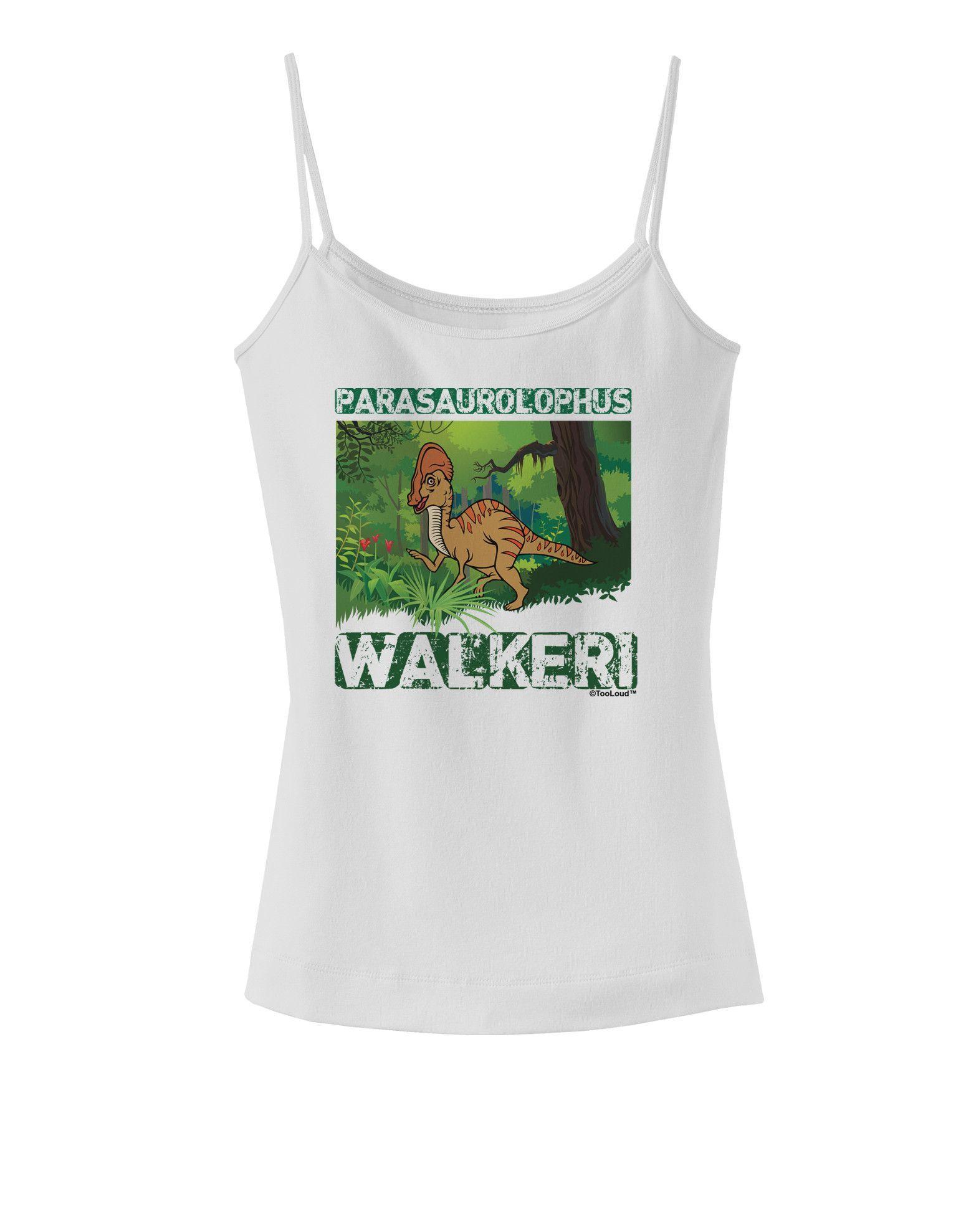 TooLoud Parasaurolophus Walkeri with Name Dark Muscle Shirt