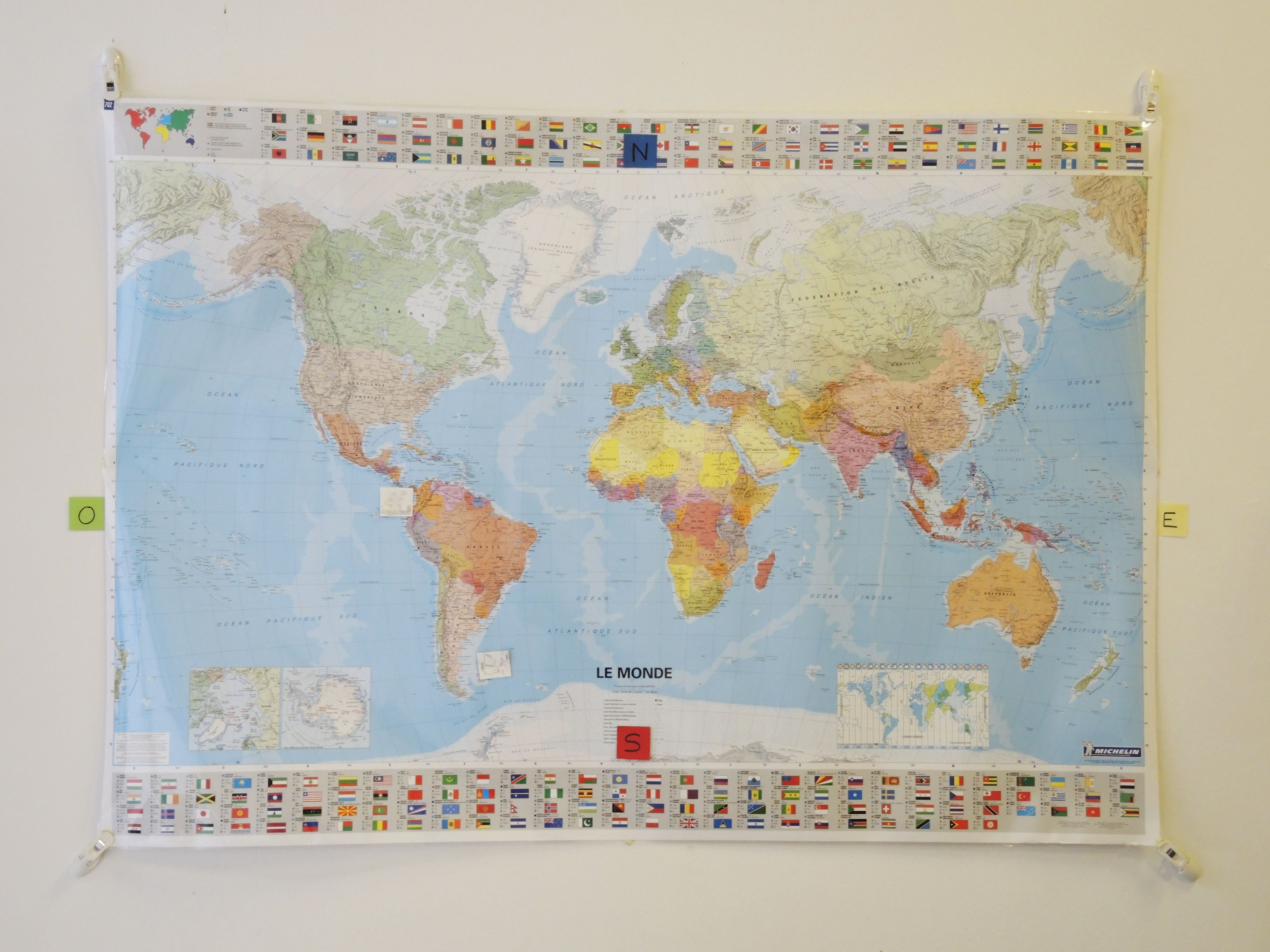 Carte Du Monde Plastifiee.Grands Navigateurs Instruction En Famille Homeschool Vintage