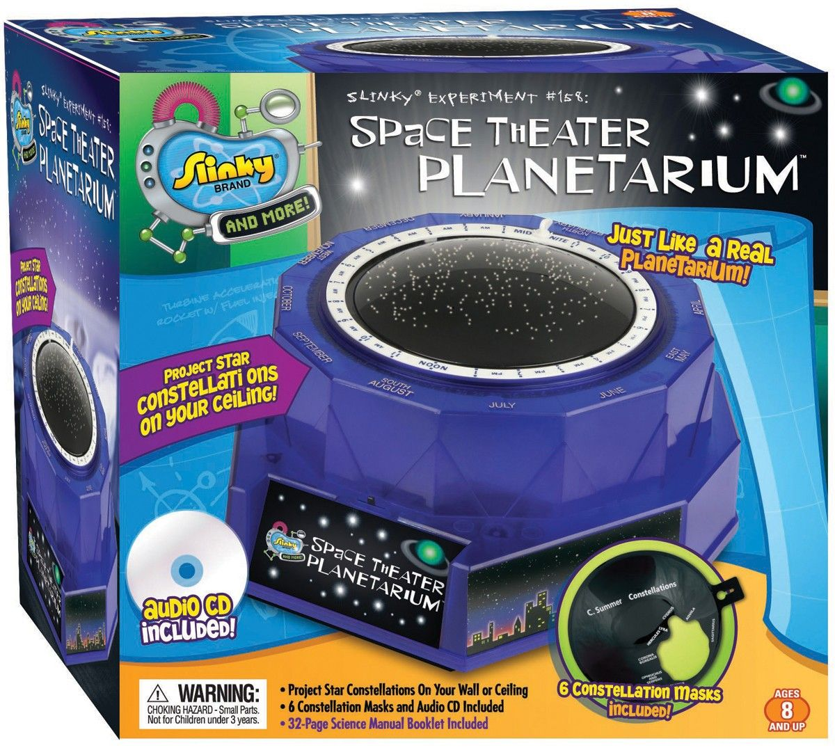 Space Theater Planetarium Kit View And Learn About The