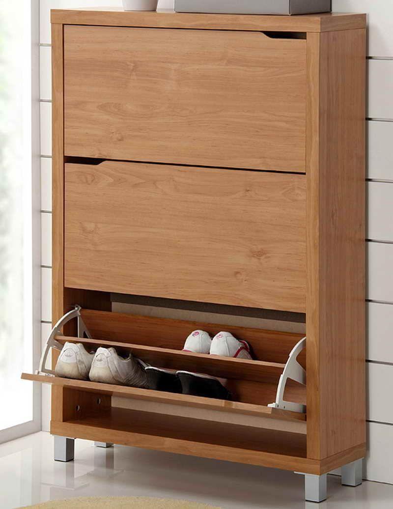 Modern Wooden Shoes Furniture Storage Shoe Cabinet Design Shoe