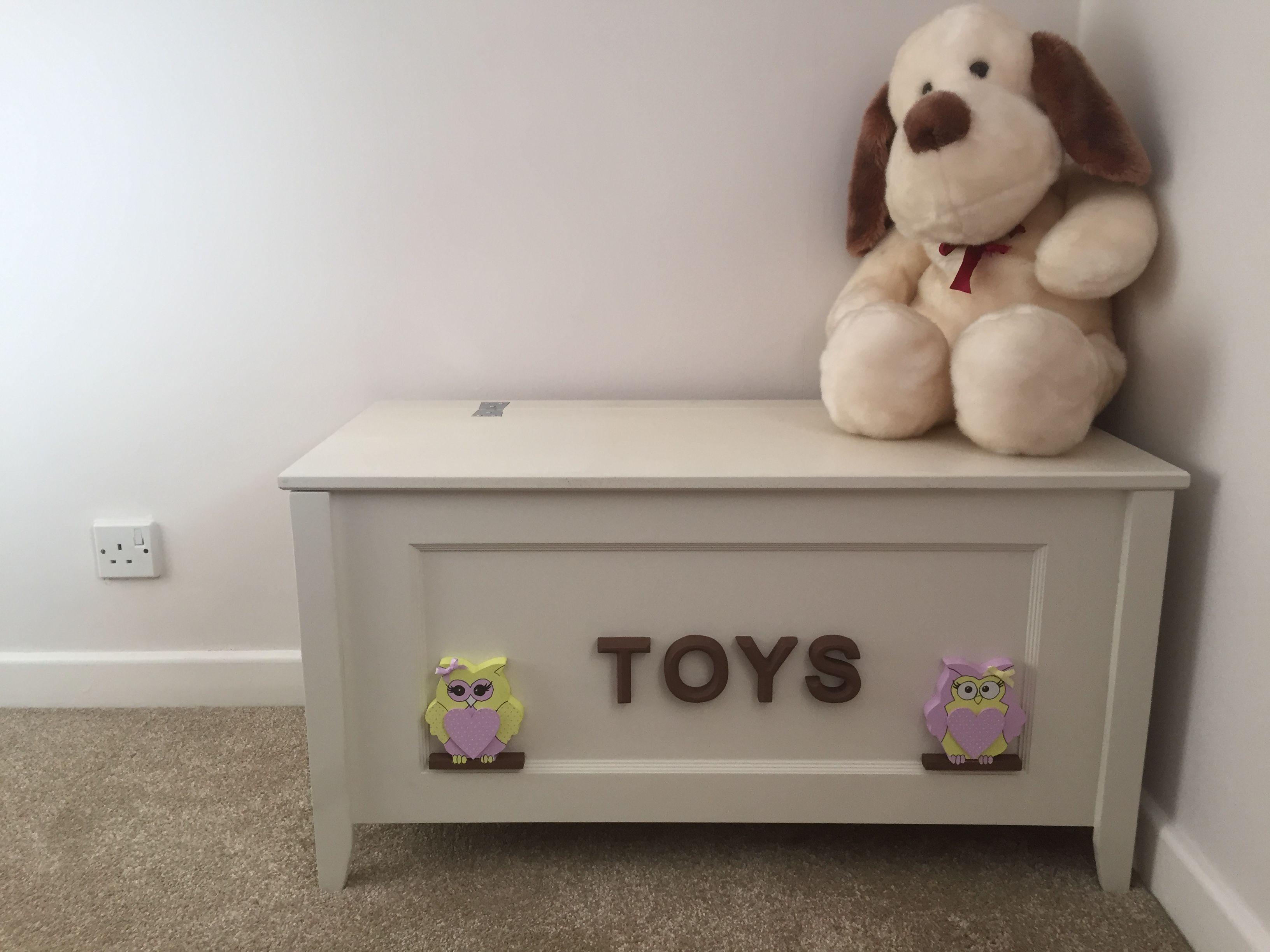 Handmade Personalised Toy Box