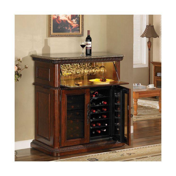 Portable Home Mini Bar Sideboard Buffet Server Table Pub Liquor Wine Cabinet Apt Furnitureofamerica Modern Home Bar Furniture Bar Furniture Furniture