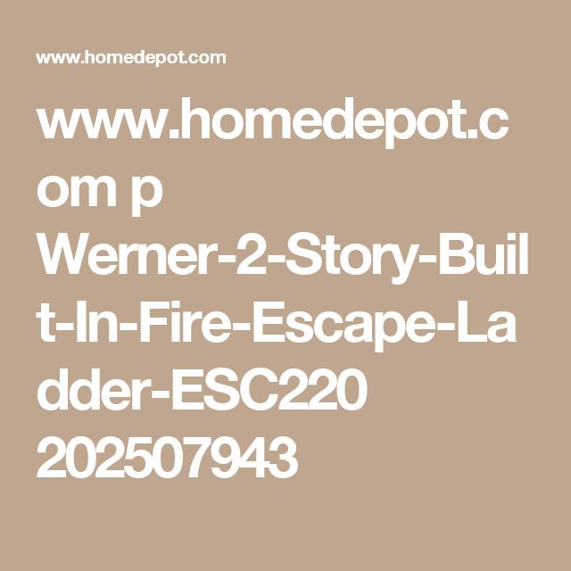 Werner 2 Story Built In Fire Escape Ladder Luxury Vinyl Plank Vinyl Flooring Luxury Vinyl