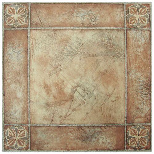 12 X 12 Self Adhesive Peel And Stick Vinyl Floor Tiles Stoneberry Vinyl Flooring Tile Floor Vinyl Tiles