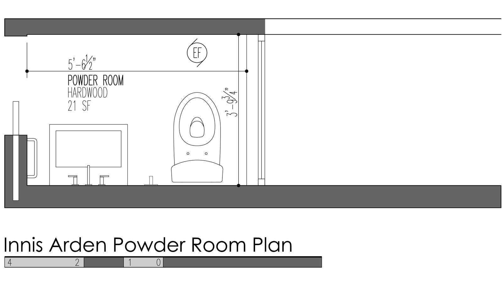 5 Design Features for Modern Powder Rooms #modernpowderrooms